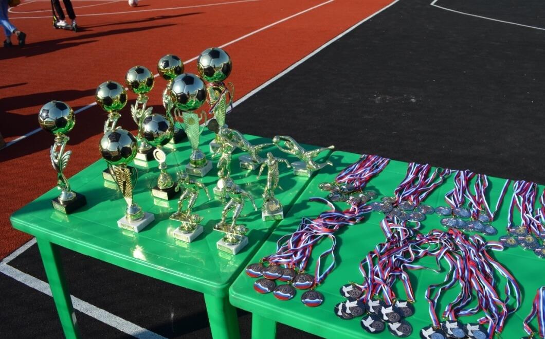 Победителям и призерам вручили целую россыпь наград