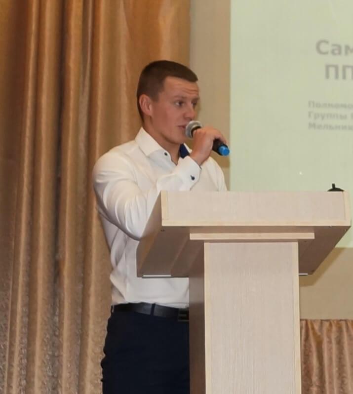 Максим Мельников, ППО Группы ММК