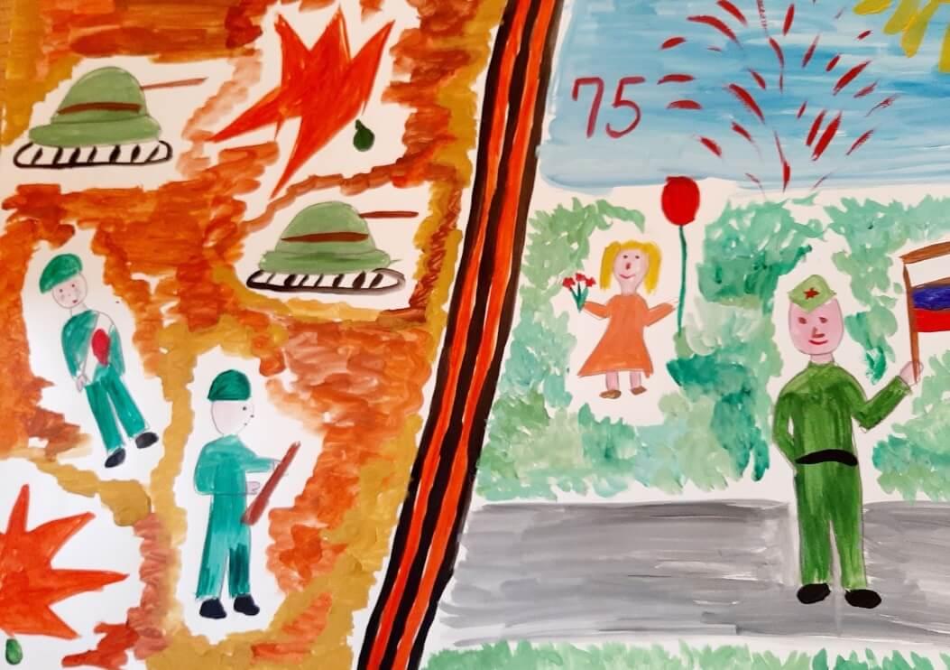 Дети работников ММК-Метиз нарисовали улыбки Победы