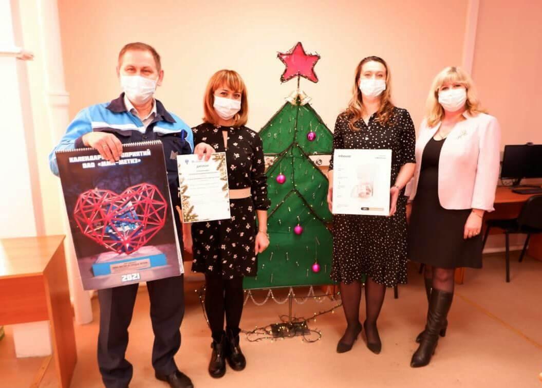 Все участники конкурса «Креативная елка» награждены призами